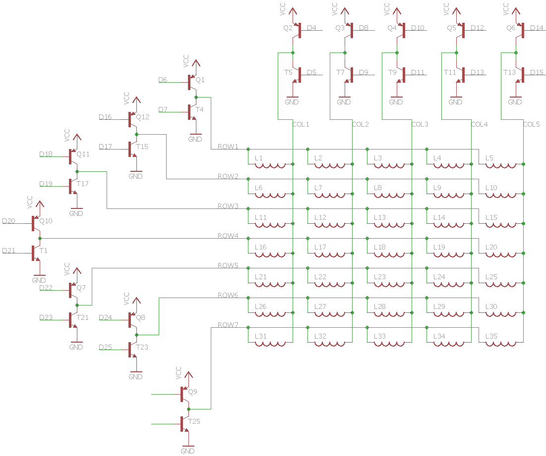 Using Hex Inverter With Npn Transistor Array Circuit Diagram Of A Darlington Pair Transistors I Wanted To Use Arrays Instead H Bridges Because The Cost Mostly Bridge That Was Originally Planning Source L293d Costs 332