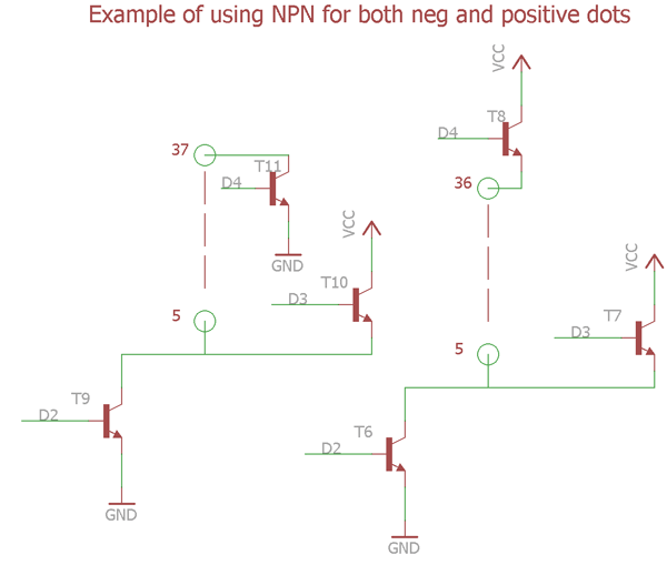 how to connect pnp vs npn