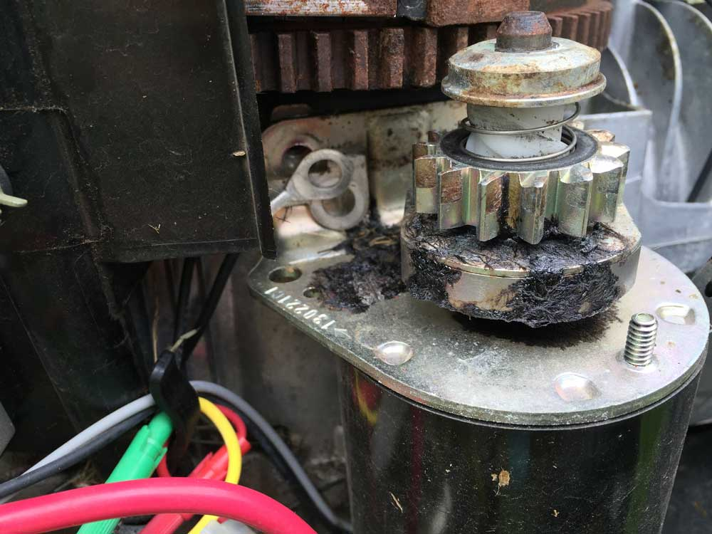 Starter not engaging (not lifting up) - MyTractorForum com