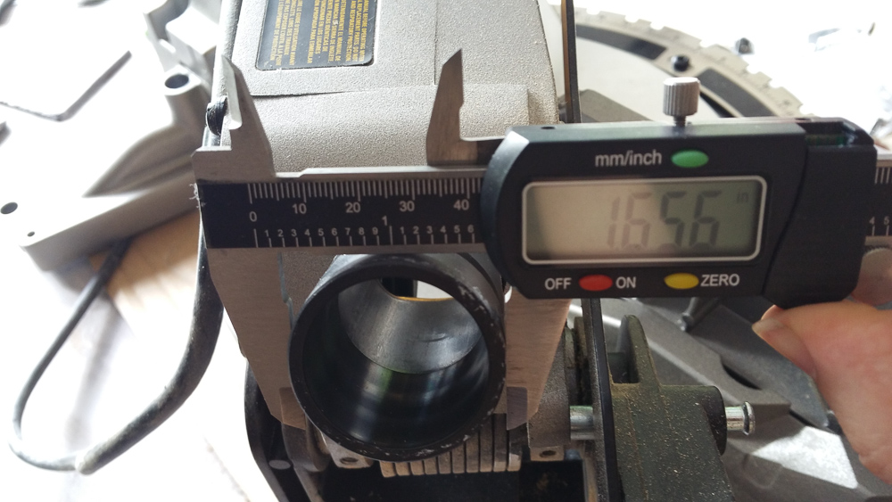 3d Printed Miter Saw To Vacuum Hose Adapter Lensdigital