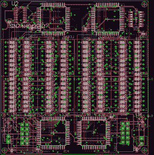Beginning of Xronos 3.0 and new LED Matrix display