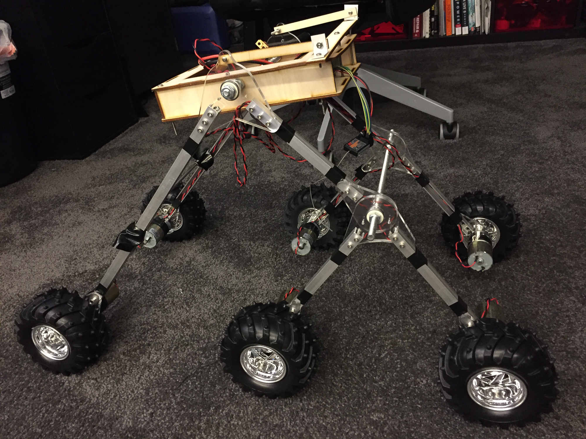 T.H.O.R. Rover Part 2: First Prototype